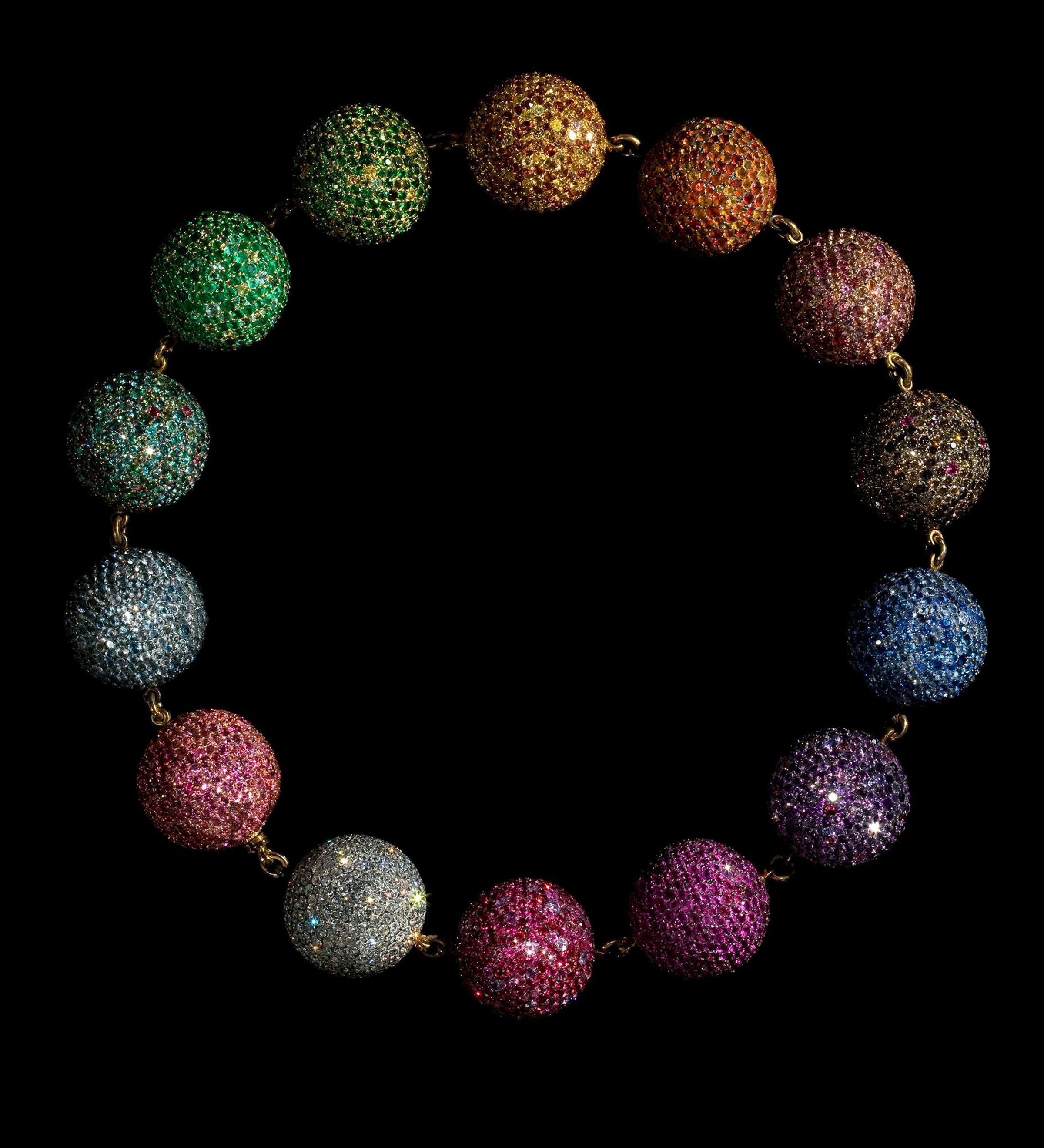 4. Colored Balls Necklace 1999_JAR