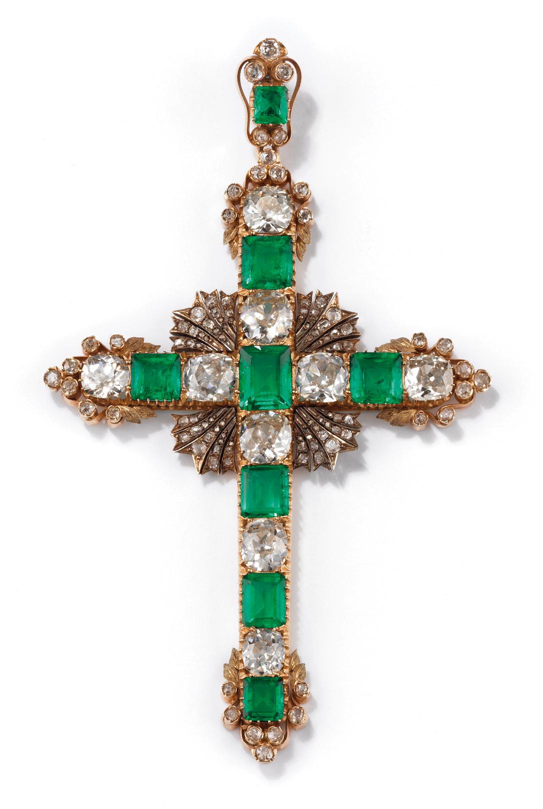 Croix épiscopale