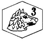 Poincon-Platine-Massif-de-3eme-Titre-Platine-850milliemes-Tete-de-Chien-Blanc