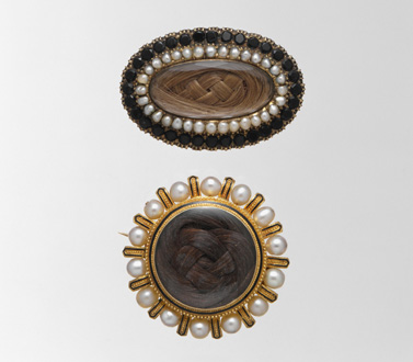 11 Brooches 1850 and 1858