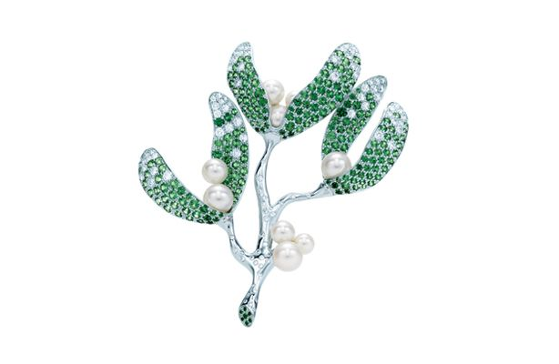 tiffany_mistletoe_brooch