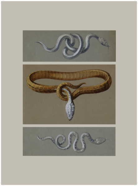 1.  1878 Serpent Necklace and Brooches - Boucheron 2