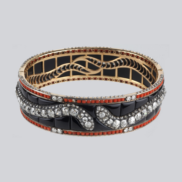 6.  1937 Serpent Bracelet - Boucheron
