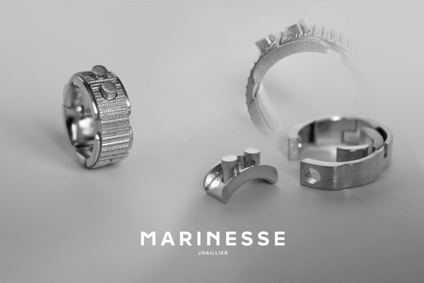 Bague Code 4p ©MARINESSE