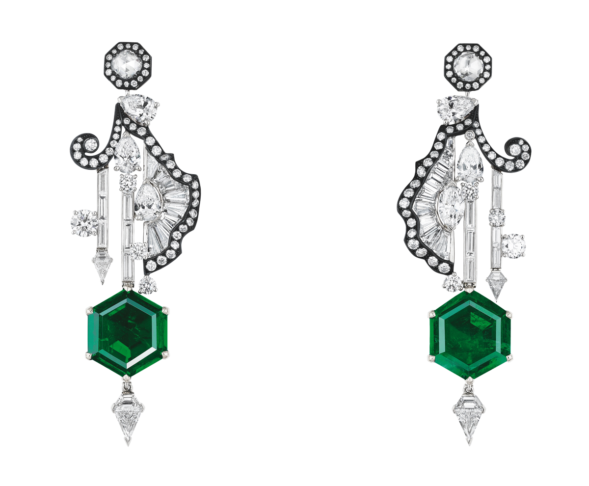 SALON DE MARS BAGUETTE EARRINGS