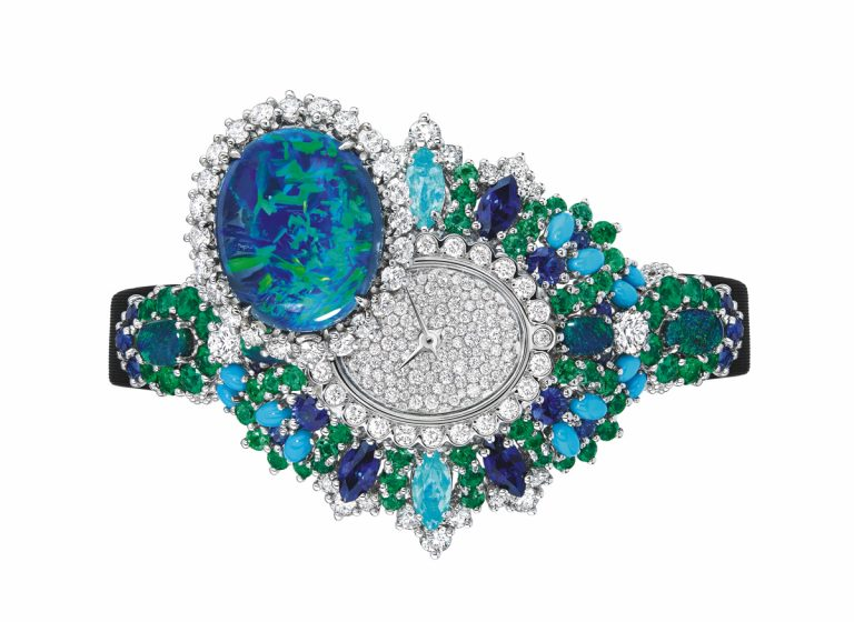 JOLY93022 - EXQUISE OPAL HIGH JEWELLERY TIMEPIECE (2)