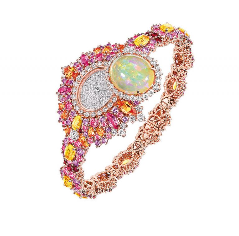 JOLY93023 - EXQUISE OPAL HIGH JEWELLERY TIMEPIECE (3)