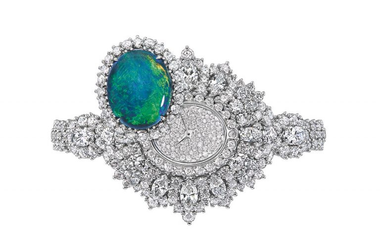 JOLY93024 - EXQUISE OPAL HIGH JEWELLERY TIMEPIECE (2)
