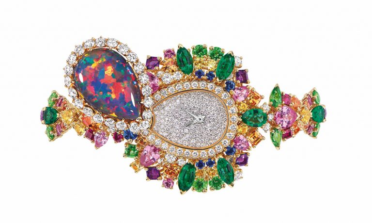 JOLY93026 - MAJESTUEUSE OPAL HIGH JEWELLERY TIMEPIECE (2)