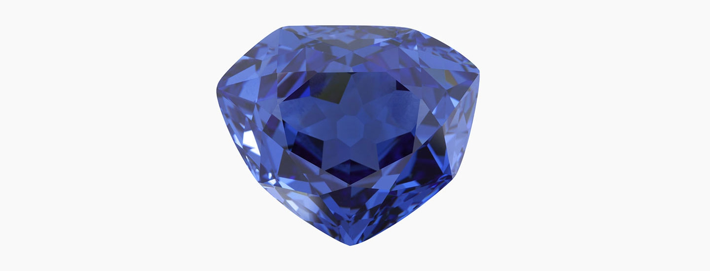 bleu de france diamant louis XIV